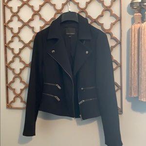 Banana Republic Size 4 black moto jacket